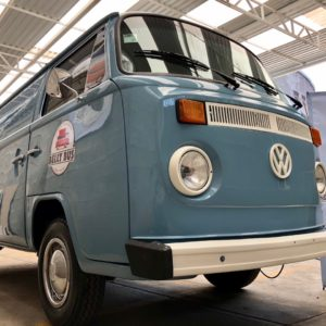 Restored and Equipped 1986 VW Bus Food Truck