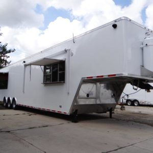 2019 ATC Quest 47′ custom food trailer with 13.5′ porch